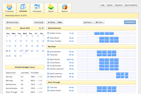 hotel scheduling software